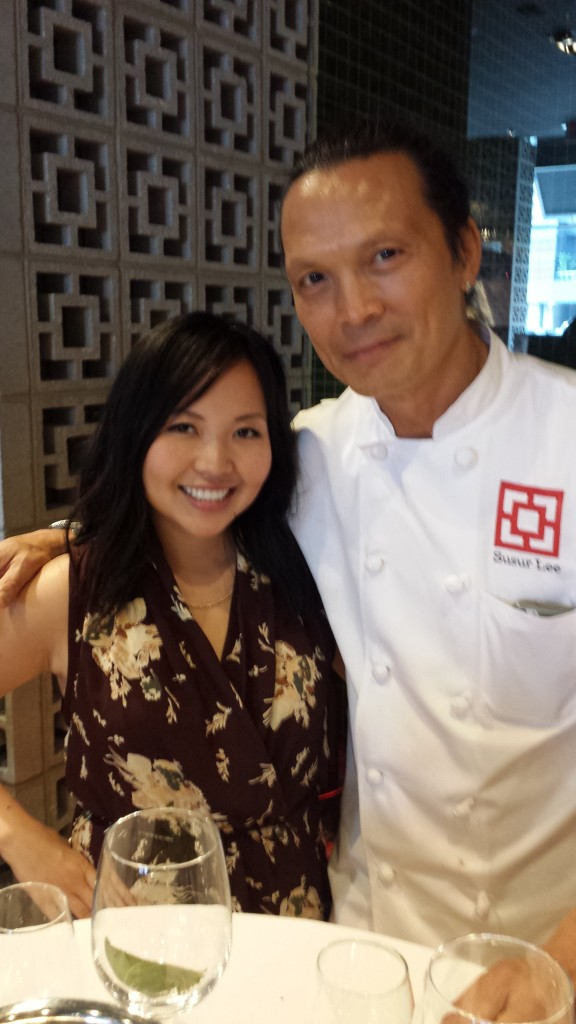 Chef Susur Lee and I #maryshappybelly