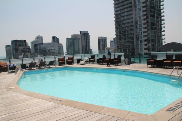 Hyatt Summerlicious pool