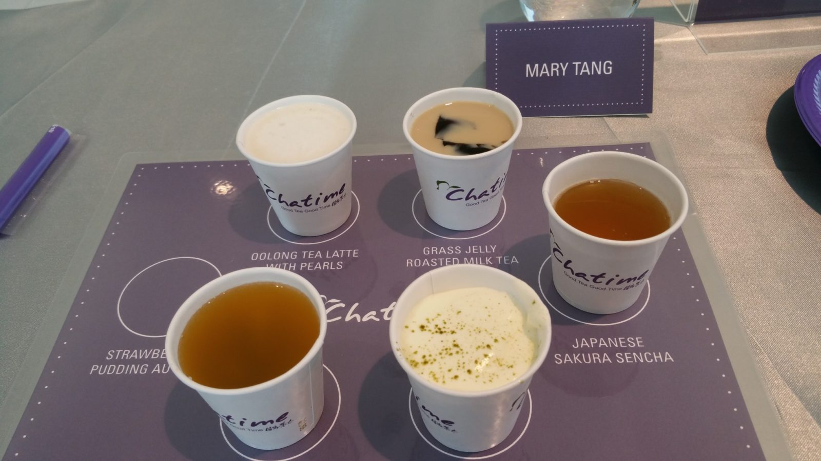 Chatime herbal tea - Out Of The Samples My Favourite Was The Grass Jelly Roasted Milk Tea Which Is Also One Of The Best Sellers In Ontario I Also Absolutely Loved The