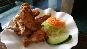 Fish sauce chicken wings