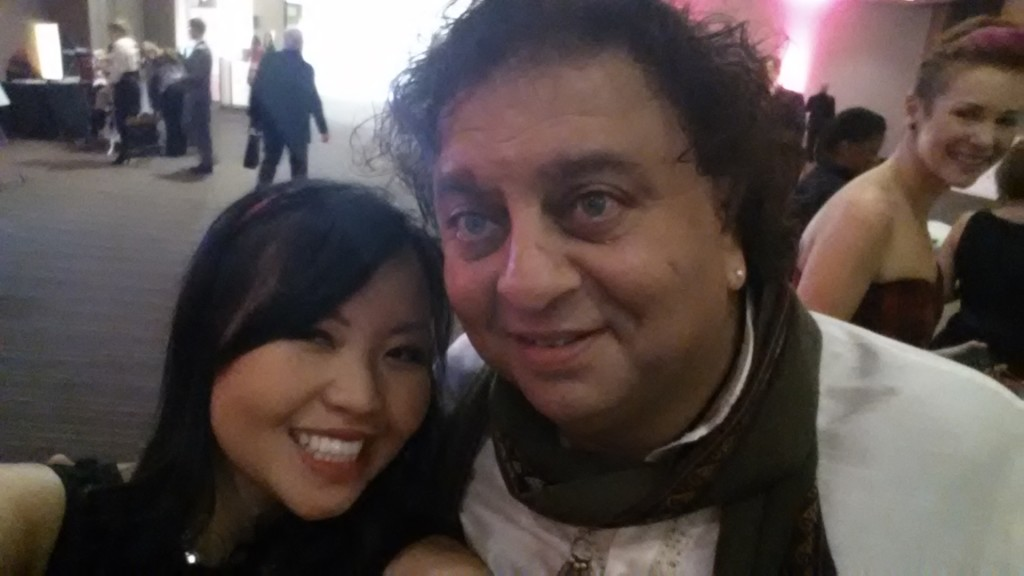 Selfie with Chef Vikram Vij