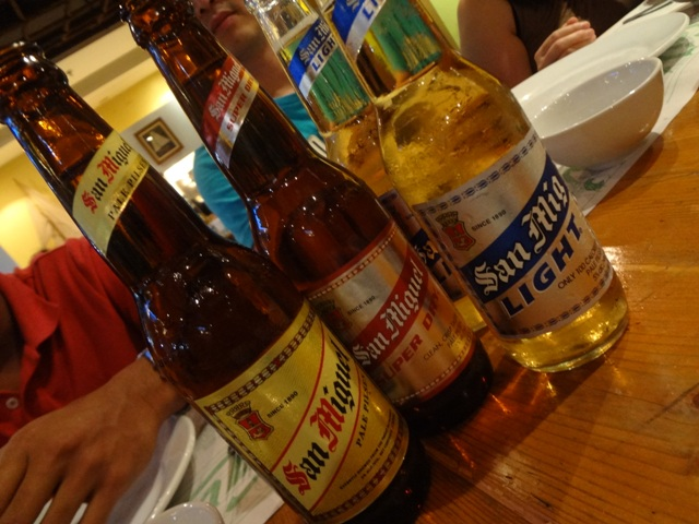 Beer from the Philippines
