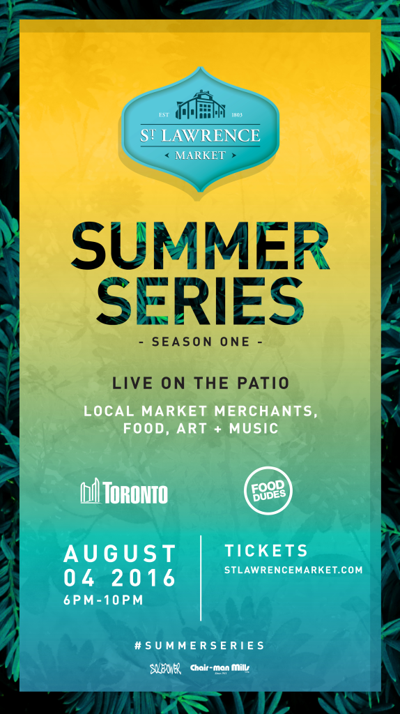Summer Series Summer Staycation DIGITAL TSA St Lawrence Market final