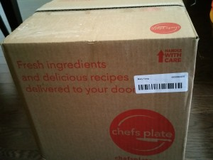 Chefs Plate box