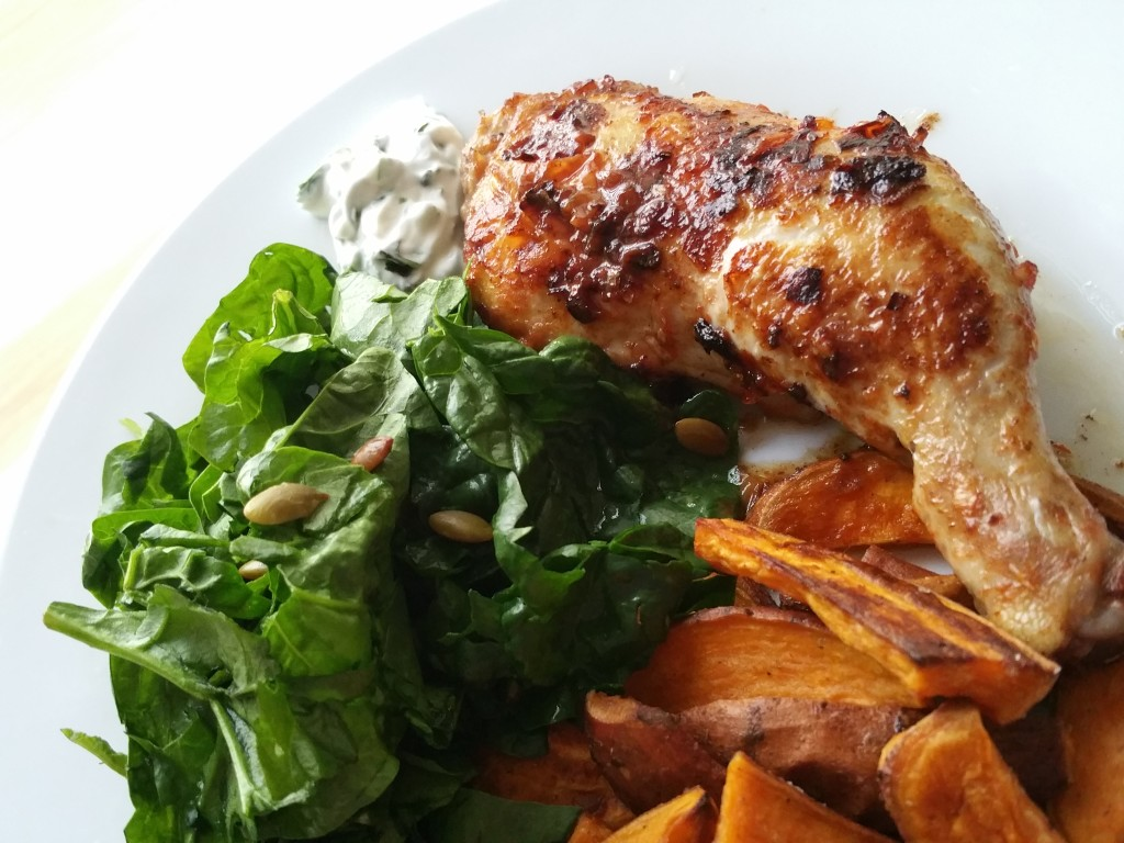 Piri Piri Chicken (picture of 1serving)
