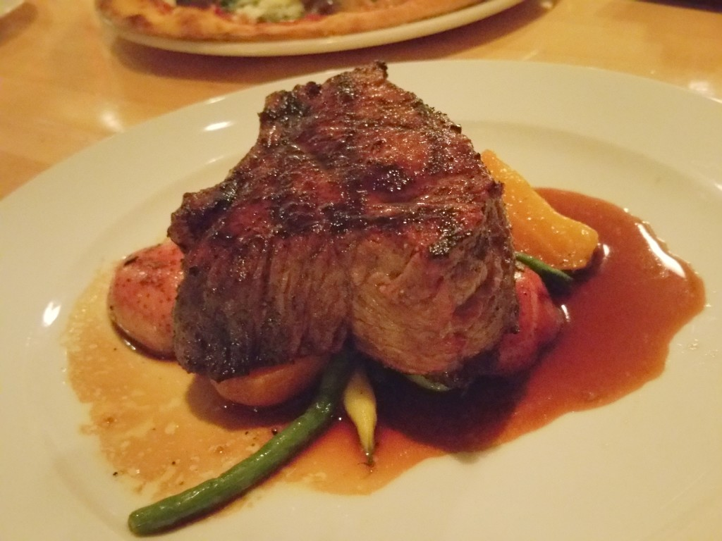 Steak special at Paese