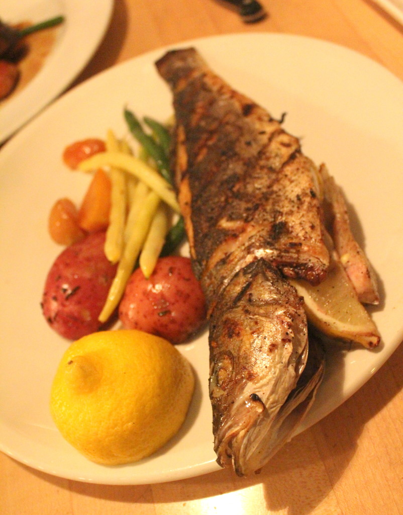 Whole Grilled Fish at Paese