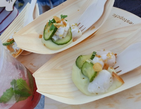 The Stop 2017 Scallop ceviche