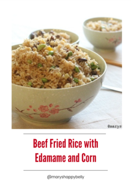 Beef Fried Rice Pinterest