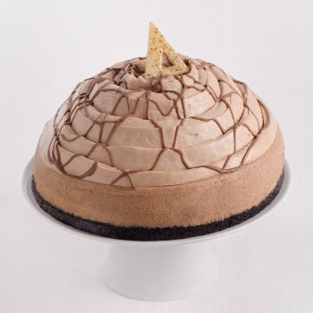 La Rocca's Creative Cakes Milk Chocolate Cheesecake . Photo credit: La Rocca Creative Cakes
