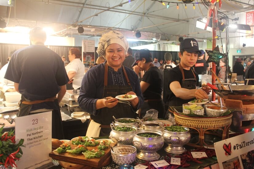 Chef Nuit at Recipe for Change 2016