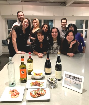 Viva L'italia Cooking Class & Wine Pairing Experience. Photo courtesy of Vine and Vintage