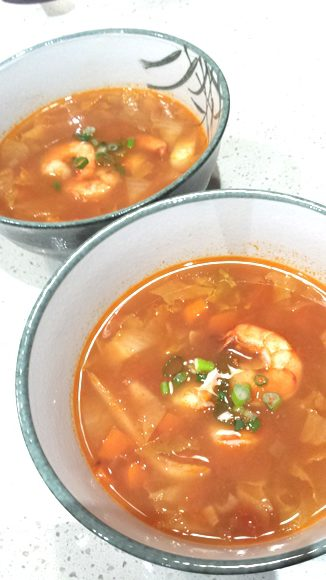 Tomato Lemongrass Soup