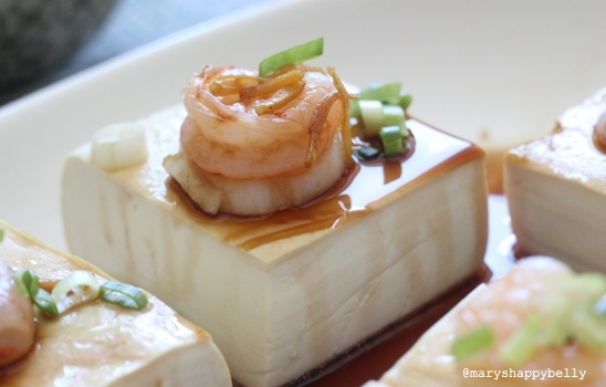 Recipe Chinese Steamed Tofu With Shrimp And Scallops Marys Happy