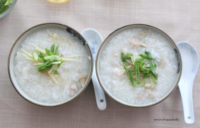 nstant Pot Chicken Congee